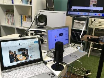 リモート会議イメージ - スターネスジャパン会議室 吹上のレンタルスペース、貸会議室の室内の写真