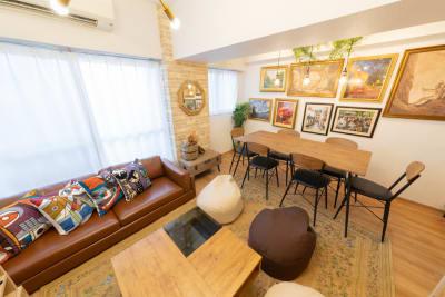 135_fika東新宿 キッチンスペースの室内の写真