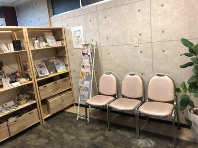 休憩スペース - DTS 道場スタジオ、セミナールームの設備の写真