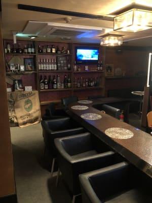 Bar Liber パーティスペースの室内の写真