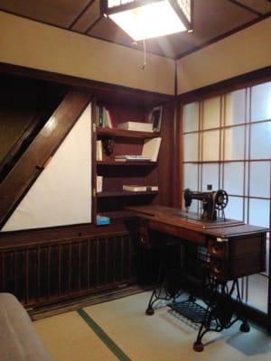 一階の休憩室 - MH Houses 京都小路庵の室内の写真
