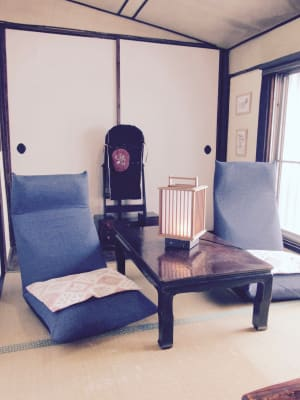 二階の茶室 - MH Houses 京都小路庵の室内の写真