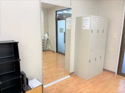 追加された鏡です☆ - れんたるスタジオMINT レンタルスタジオ 1階の室内の写真