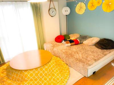 こたつ設置中! - TS00124新宿 スぺレンParty新宿★ホムパの室内の写真