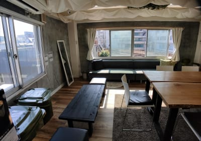Sabori 大久保402 完全貸切個室・少人数多目的レンタルスペース・時間貸しスペース - Sabori 大久保 402 多目的レンタルスペースの室内の写真