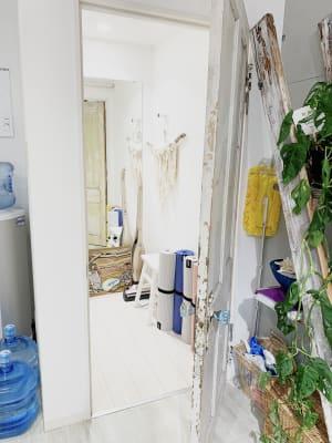 更衣室あります! - レンタルスタジオ 多目的スペースの室内の写真