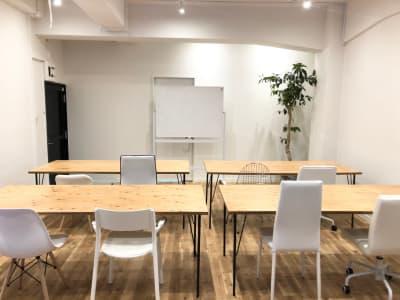 セミナーなどにもおすすめです  - リノスぺ恵比寿 リノベーションスタジオの室内の写真
