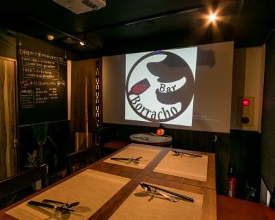 プロジェクター、音響完備 - バルボラッチョ秋葉原店 貸切パーティレストランの設備の写真