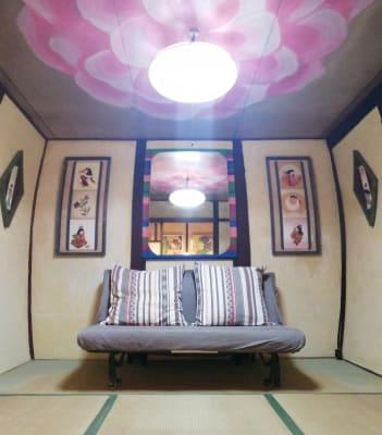 リビング - MH Houses 京都小路庵の室内の写真