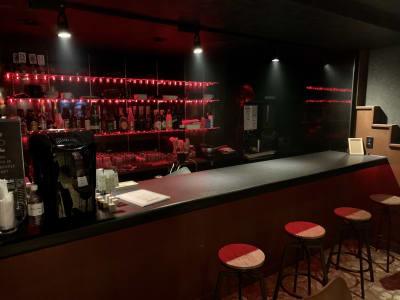 BARカウンター - ライブハウスEN-LAB.の室内の写真