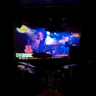 プロジェクター映像 - ライブハウスEN-LAB.の室内の写真