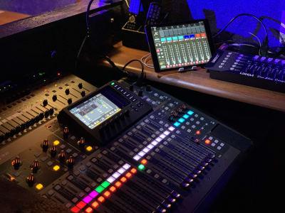 音響機材 - ライブハウスEN-LAB.の室内の写真