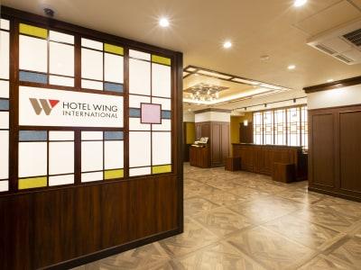 フロント・ロビー - ホテルウィング東京赤羽 ホテル1Fカフェスペース2名利用の入口の写真