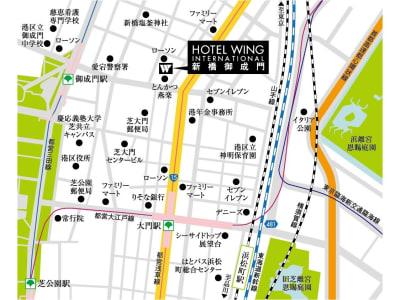 ホテルウィング新橋御成門 テレワーク用客室のその他の写真