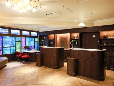 フロント・ロビー - ホテルウィングセレクト池袋 テレワーク用客室の入口の写真