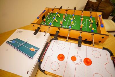 有料のボードゲームになります。オプション付けて是非楽しんでください。 - Sharebaco 西新宿の設備の写真