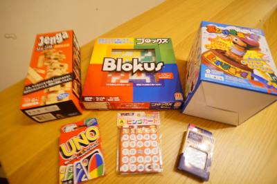 無料のボードゲームです。ビンゴカードは人数×2枚までご利用になれます。 - Sharebaco 西新宿の設備の写真