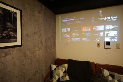 ブルックリンスペース  渋谷2分/女子会/テレワーク等の室内の写真