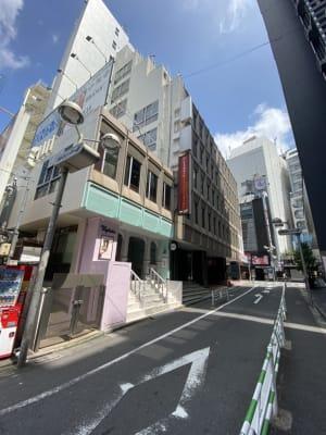 渋谷ワールド宇田川ビル タイムシェアリング B2F会議室の室内の写真
