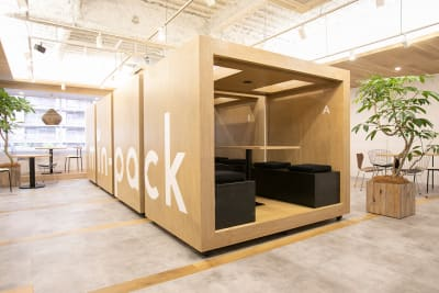 min-pack Personal Box[B]の室内の写真