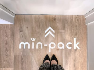 min-pack Personal Box[B]の入口の写真