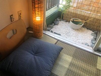 <和室>渋谷駅前徒歩2分 和室スペースの室内の写真