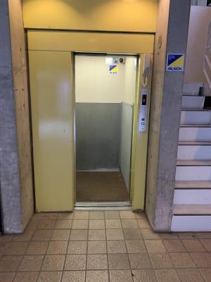 エレベーターです - MIBビル 602号室 レンタルスタジオ602号室の入口の写真