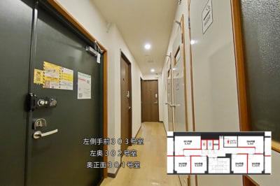 グリーンハウス 新宿市谷 新宿市谷-302号室貸切個室の室内の写真