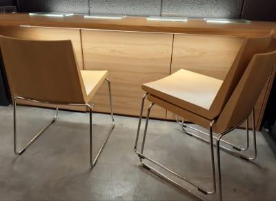 スタッキング可能な椅子12脚 - 京烏 レンタルスペース、ギャラリーの設備の写真