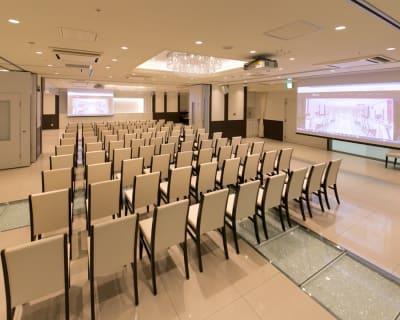 田町駅 貸し会議室 撮影会 最大300名様(人数に合わせた)の室内の写真