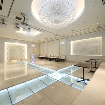 イベントや物産展、撮影会など幅広くご利用可 - 銀座レンタルスペース、貸し会議室 最大250名様(人数に合わせた)の室内の写真