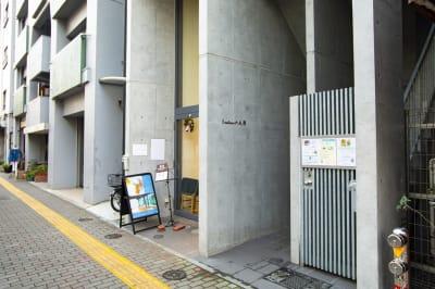 Medic room 休活空間レンタルスペースの入口の写真