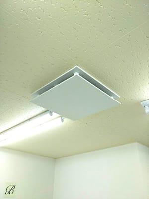 換気設備、6分で部屋全体の空気が入れ替わります。 - ネイル専用サロンモンレーブ川崎店 Bブースの設備の写真