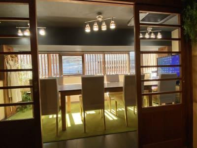 さぼり場 テーブル(貸し会議室)の室内の写真
