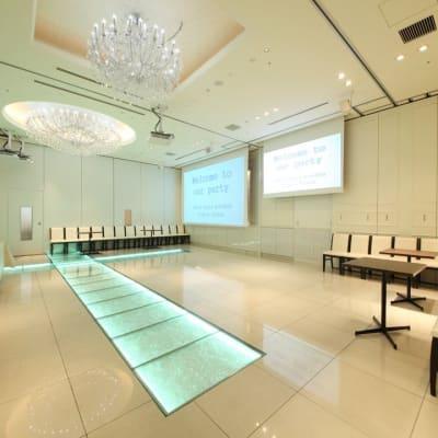 100~120名様規模のお部屋 - 銀座レンタルスペース、貸し会議室 最大250名様(人数に合わせた)の室内の写真