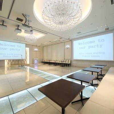 120名様規模のお部屋 - 銀座レンタルスペース、貸し会議室 最大250名様(人数に合わせた)の室内の写真
