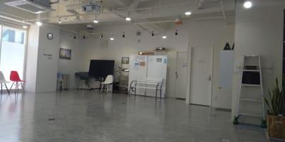 更衣室正面 - フェリスアン スタジオ237 北館 多目的スペースの室内の写真