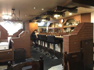 店内② - cafe friends 【ロケ撮影可能な喫茶店】の室内の写真