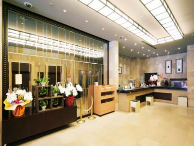 エントランス - ホテルウィングプレミアム東京四谷 小会議室の入口の写真
