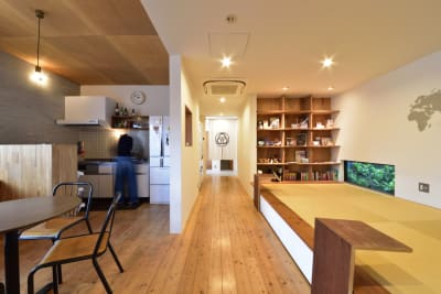 共用スペース・畳スペース・キッチン(1階) - みつわ屋 1階スペース&キッチン&屋上貸切の室内の写真