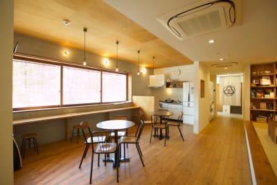 共用スペース(1階) - みつわ屋 1階スペース&キッチン&屋上貸切の室内の写真