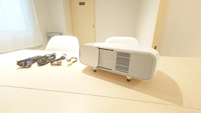 Drop by Kanayama 11/7OPEN!銀山町会議室の設備の写真