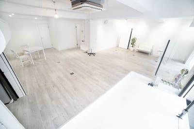 スタジオゴーイングメリー 撮影スタジオの室内の写真