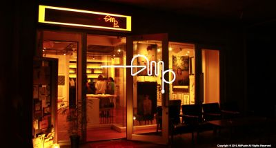 AMPcafe 多目的スペースの入口の写真
