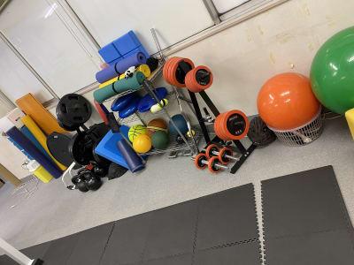 台東すこやか整骨院 セミナースペースの設備の写真