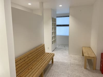 休憩スペース - レンタルフィットネススタジオ レンタルスタジオの設備の写真