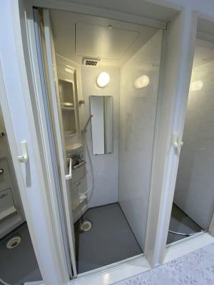 シャワールーム - レンタルフィットネススタジオ レンタルスタジオの設備の写真