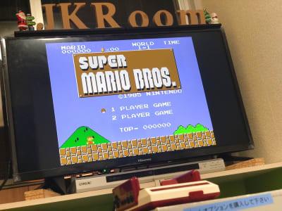 ファミコンミニ  必ずゲームオプションをご購入下さい。 ご利用後は綺麗に戻して下さい。 - JK Room 上野駅前店 パーティースペースの室内の写真