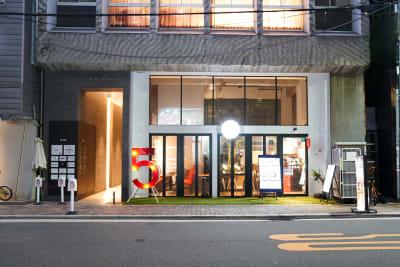FIVE 南堀江 POP UP STOREスペースの外観の写真