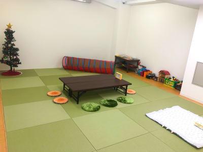 絵本やおもちゃもご利用いただける和室プレイルーム★小さなお子様とごゆっくりお過ごしください^ ^ - 親子サロン-LaPark- 和室プレイルームの室内の写真